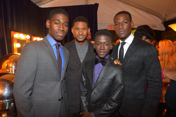 Usher Kwame Boateng UNCF Hosts The 33rd Annual An Evening With The Stars - Backstage And Audience