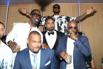 Usher Mark Pitts The 9th Annual Mark Pitts And Bystorm Ent Post BET Awards Celebration
