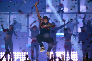 Usher 2014 iHeartRadio Music Festival - Night 1 - Show