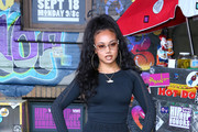 Cymphonique Miller attends VH1 Hip Hop Honors: The 90s Game Changers at Paramount Studios on September 17, 2017 in Los Angeles, California.