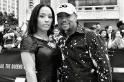 Monique Idlett (L) and Timbaland attends the VH1 Hip Hop Honors: All Hail The Queens at David Geffen Hall on July 11, 2016 in New York City.