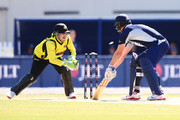 Josh Inglis of Western Australia stumps Cameron White of Victoria during the JLT One Day Cup between Victoria and Western Australia at Junction Oval on September 26, 2018 in Melbourne, Australia.