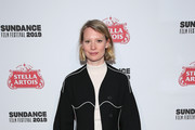 """Mia Wasikowska attends VICE Studios' """"Judy & Punch"""" celebration at Stella's Film Lounge during the 2019 Sundance Film Festival at Stella's Film Lounge on January 27, 2019 in Park City, Utah."""