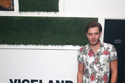 Dominic Sherwood attends VICELAND Presents What Would Diplo Do @ Comic Con 2017 on July 21, 2017 in San Diego, California.