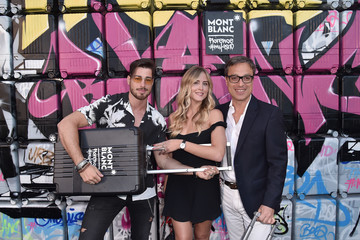 Valentina Ferragni Montblanc Cocktail Party At 94. Pitti Uomo