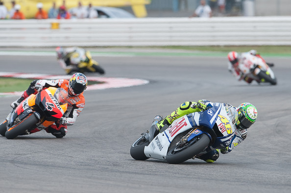 MotoGP of San Marino - Race. In This Photo: Valentino Rossi,