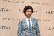 Francesco Scianna attends the Valentino 'Mirabilia Romae' haute couture collection fall/winter 2015 2016 at Piazza Mignanelli on July 9, 2015 in Rome, Italy.