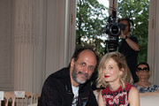 Luca Guadagnino and Alba Rohrwacher attend the Valentino Haute Couture Fall Winter 2018/2019 show as part of Paris Fashion Week on July 4, 2018 in Paris, France.