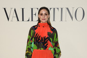 (EDITORIAL USE ONLY) Olivia Palermo attends the Valentino show as part of the Paris Fashion Week Womenswear Fall/Winter 2020/2021 on March 01, 2020 in Paris, France.
