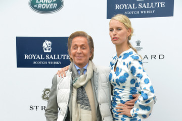 Valentino Garavani Celebs at the Sentebale Royal Salute Polo Cup