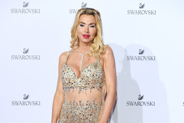 Valeria Marini Swarovski Crystal Wonderland Party