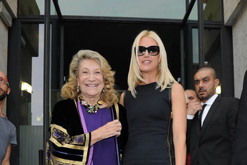 Valeria Mazza MFW: Arrivals at Salvatore Ferragamo