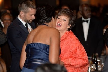 Valerie Jarrett Barack Obama Addresses White House Correspondents Dinner
