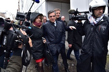 Valerie Pecresse French Candidate Francois Fillon Confirms He Remains A Candidate For The French Presidential Elections