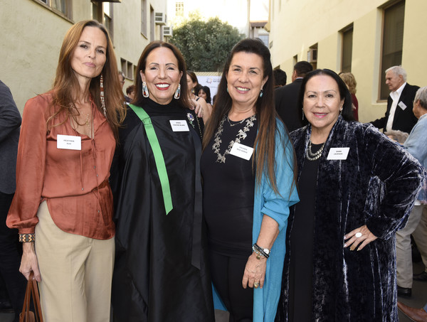 Wes Studi Celebrates Honorary Oscar And 30 Years In Film At Reception Hosted By Partnership With Native Americans [graduation,event,social group,community,academic dress,student,team,college,uniform,smile,wes studi celebrates honorary oscar,partnership with native americans,valerie red-horse,dawn jackson,heather rae,sheri foster blake,california,partnership,paramount pictures,film at reception]