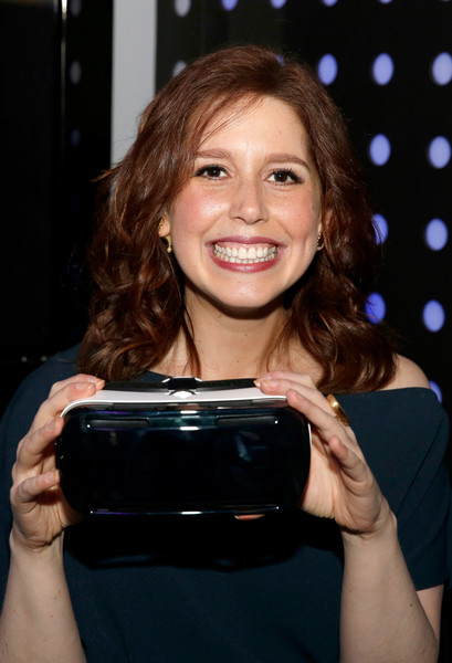 Vanessa bayer quot saturday night live s quot vanessa bayer stops by the