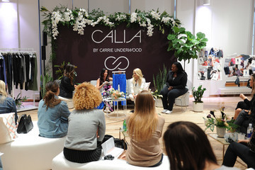 Vanessa Lachey Carrie Underwood Hosts an Event for Her Athletic Apparel Line CALIA at New York Fashion Week