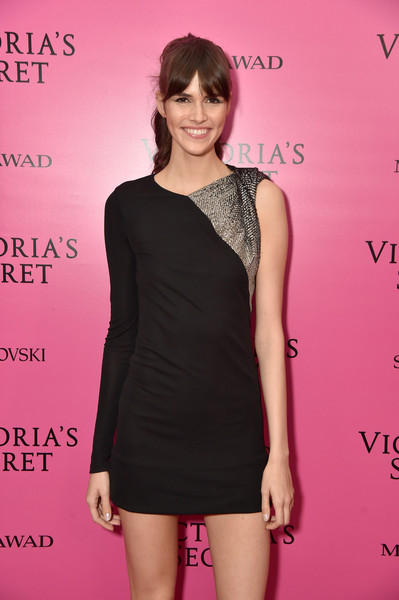 2017 Victoria's Secret Fashion Show In Shanghai - After Party [clothing,dress,cocktail dress,shoulder,fashion model,hairstyle,little black dress,pink,fashion,neck,vanessa moody,shanghai,china,mercedes-benz arena,party,victorias secret fashion show]