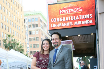 Vanessa Nadal Lin-Manuel Miranda Honored With Star On The Hollywood Walk Of Fame