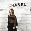 Vanessa Paradis Chanel And Madame Figaro Dinner In Honor Of The 46th Anniversary Of The Festival Of American Cinema In Deauville