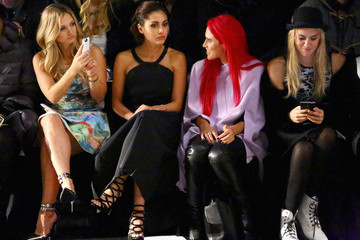 Vanessa Ray Vivienne Tam - Front Row - Mercedes-Benz Fashion Week Fall 2015