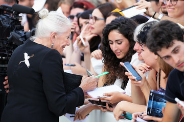 Vanessa Redgrave 'First Man' Premiere, Opening Ceremony And Lifetime Achievement Award To Vanessa Redgrave Red Carpet Arrivals - 75th Venice Film Festival