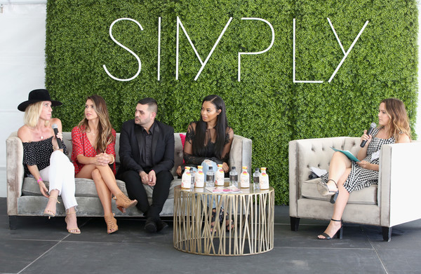 SIMPLY Los Angeles Fashion + Beauty Conference Powered by NYLON at The Grove [fashion,event,sitting,photography,furniture,leisure,fashion design,style,michael costello,amber farr,vanessa simmons,audrina patridge,ali grant,nylon,tv personality,l-r,the grove,los angeles fashion beauty conference]