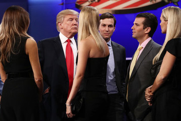 Vanessa Trump Final Presidential Debate Between Hillary Clinton and Donald Trump Held in Las Vegas