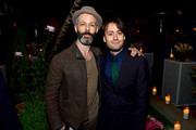(L-R) Jeremy Strong and Kieran Culkin attend Vanity Fair, Amazon Studios and Audi Celebrate The 2020 Awards Season at San Vicente Bungalows on January 04, 2020 in West Hollywood, California.