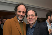 Luca Guadagnino (L) and Sony Pictures Classics Co-President and Co-Founder Michael Barker attend the Vanity Fair and Barneys New York celebration of Sony Pictures Classics' 'Call Me By Your Name' on February 28, 2018 in Los Angeles, California.