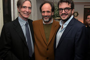 Luca Guadagnino (C), Rodrigo Teixeira (R), and guest attend the Vanity Fair and Barneys New York celebration of Sony Pictures Classics' 'Call Me By Your Name' on February 28, 2018 in Los Angeles, California.