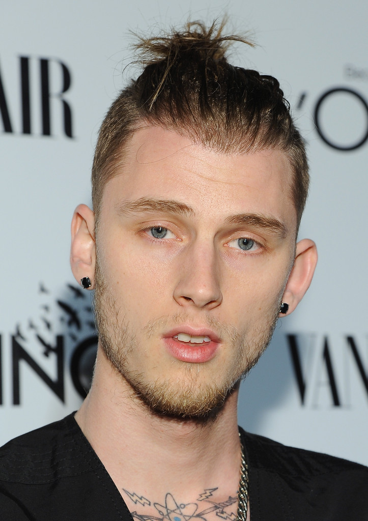 Machine Gun Kelly Hair 2015  Black Hairstyle and Haircuts