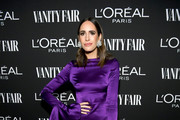 Louise Roe is seen as Vanity Fair and L'Oréal Paris Celebrate New Hollywood on February 19, 2019 in Los Angeles, California.