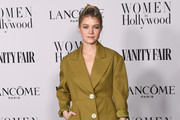 Sarah Jones attends the Vanity Fair and Lancôme Women in Hollywood celebration at Soho House on February 06, 2020 in West Hollywood, California.