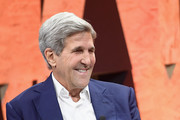Former Secretary of State John Kerry speaks onstage during Vanity Fair New Establishment Summit at Wallis Annenberg Center for the Performing Arts on October 2, 2017 in Beverly Hills, California.
