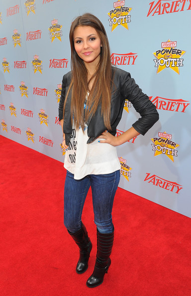 "Victoria Justice Actress Victoria Justice arrives at Variety's 3rd annual ""Power of Youth"" event held at Paramount Studios on December 5, 2009 in Los Angeles, California."