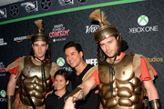 Saturday: Mario Lopez and Makai - The Week In Pictures: November 22, 2013