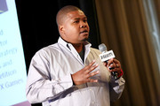 Moderator Mike Johnson, Managing Partner Next Impulse speaks onstage during 'What is the Next Major? Sports on the Rise' panel at Variety's Sports Entertainment Summit in association with SVG at Four Seasons Hotel Los Angeles at Beverly Hills on August 15, 2013 in Beverly Hills, California.