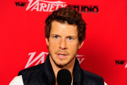 Actor Eric Mabius attends Day 4 of The Variety Studio during the 2012 Sundance Film Festival  held at Variety Studio At Sundance on January 24, 2012 in Park City, Utah.