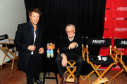 Actor Eric Mabius and Stan Lee attend Day 4 of The Variety Studio during the 2012 Sundance Film Festival  held at Variety Studio At Sundance on January 24, 2012 in Park City, Utah.