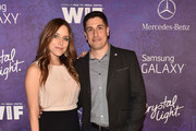 Actress Jenny Mollen and actor Jason Biggs attend Variety and Women in Film Emmy Nominee Celebration powered by Samsung Galaxy on August 23, 2014 in West Hollywood, California.