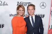 Actress Candace Cameron-Bure and Lev Bure attend Variety and Women in Film's Pre-Emmy Celebration at Gracias Madre on September 16, 2016 in West Hollywood, California.