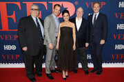 """Julia Louis-Dreyfus (C) attends the """"Veep"""" Season 7 premiere at Alice Tully Hall, Lincoln Center on March 26, 2019 in New York City."""
