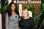Venus Williams and Audrey Hendley, president of American Express Travel, host an immersive experience presented by American Express Travel at the Greenwich Hotel on November 7, 2019, in New York City.