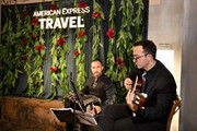 Musicians perform during an immersive experience hosted by American Express Travel and Venus Williams, at the Greenwich Hotel on November 7, 2019, in New York City.