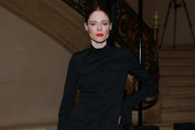 Coco Rocha attends the Vera Wang fashion show during February 2020 - New York Fashion Week on February 11, 2020 in New York City.