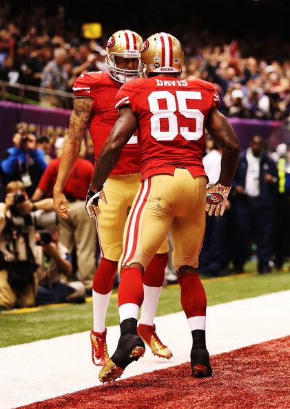 Vernon Davis and Colin Kaepernick Photos - 18 of 23. Super Bowl XLVII -  Baltimore ... a6a621e40