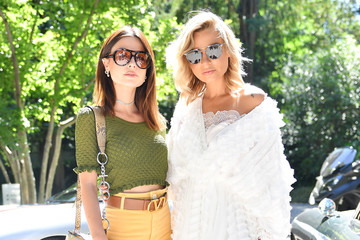 Veronica Ferraro Valentina Marzullo Tod's - Arrivals And Front Row: Milan Men's Fashion Week Spring/Summer 2020