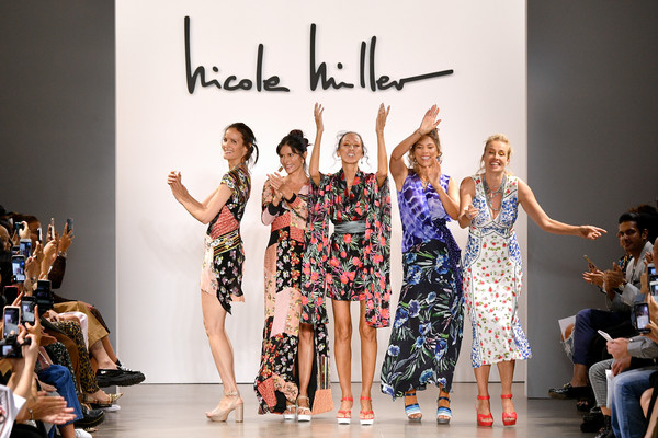 Nicole Miller - Runway - September 2019 - New York Fashion Week: The Shows [shows,fashion model,fashion,runway,fashion show,fashion design,event,public event,design,dress,performance,claudia mason,nicole miller,frederique van der wal,veronica webb,patricia velasquez,the shows at gallery ii,nicole miller - runway,runway,new york fashion week]