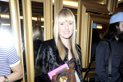 Amy Astley attends the Versace for H&M Fashion event at the H&M on the Hudson on November 8, 2011 in New York City.